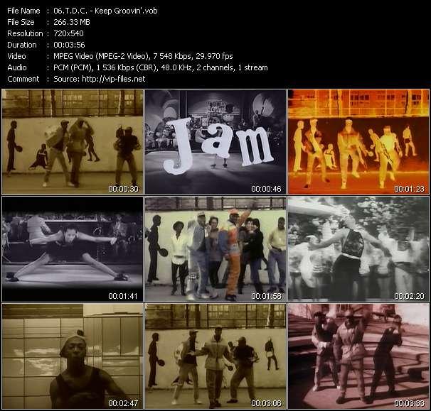video Keep Groovin' screen