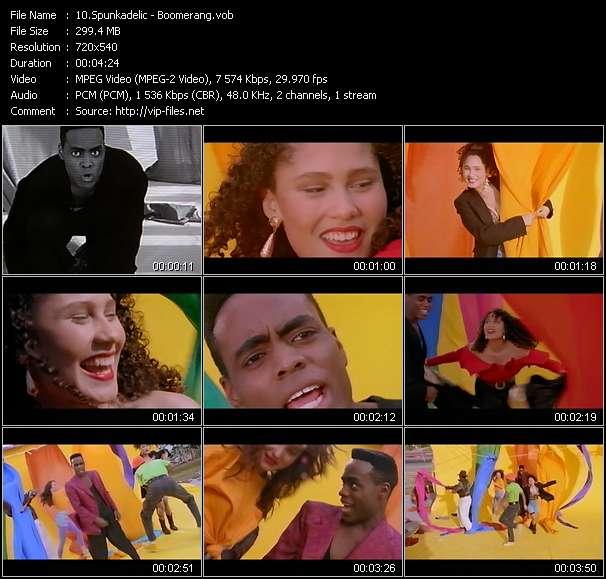 video Boomerang screen
