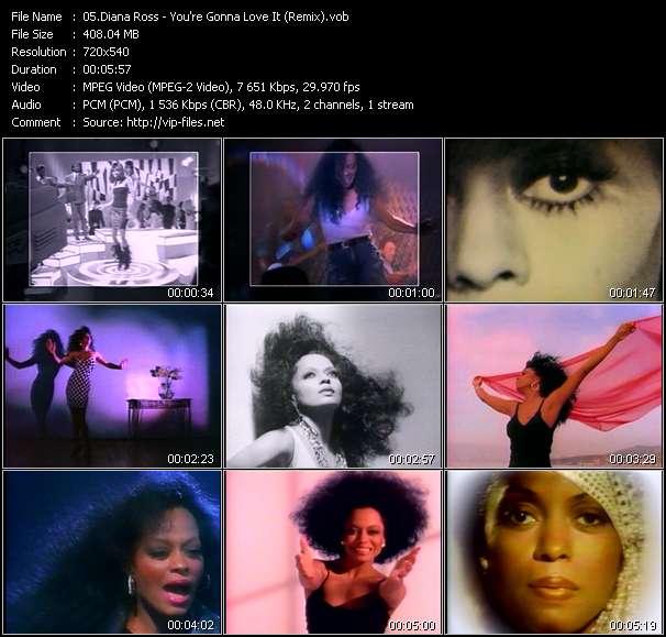 Diana Ross video screenshot
