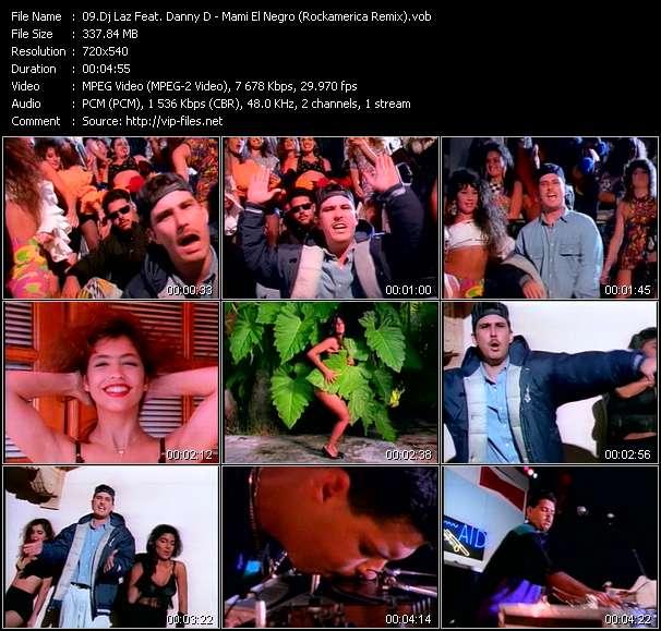Dj Laz Feat. Danny D video screenshot