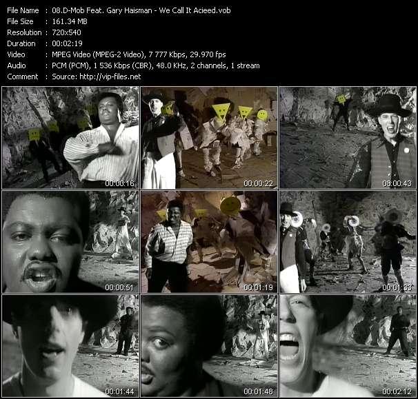 D-Mob Feat. Gary Haisman video screenshot