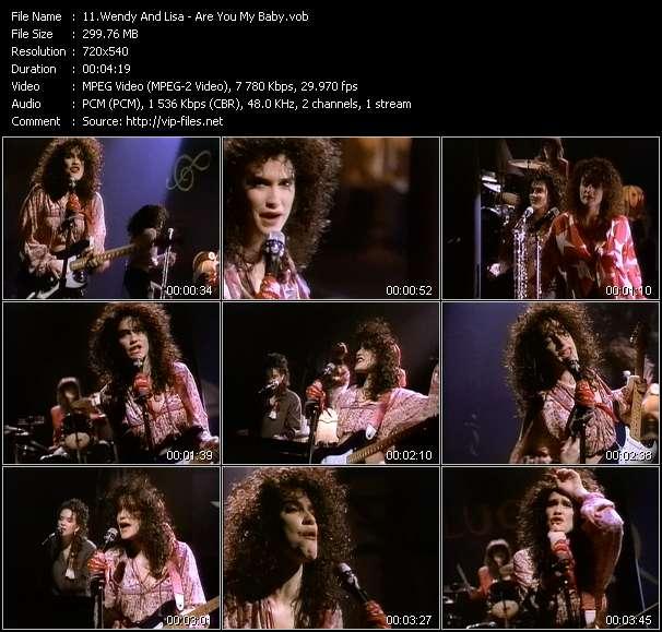 Wendy And Lisa video screenshot