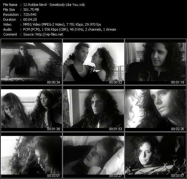 Robbie Nevil video screenshot