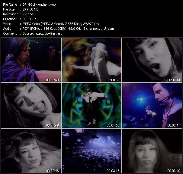 video Anthem screen