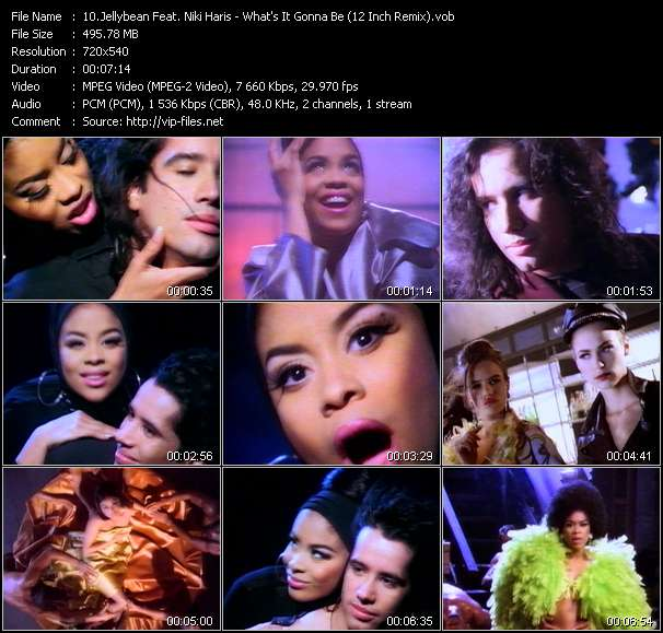 video What's It Gonna Be (12 Inch Remix) screen