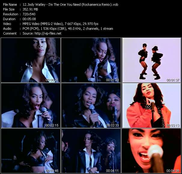 Jody Watley video screenshot