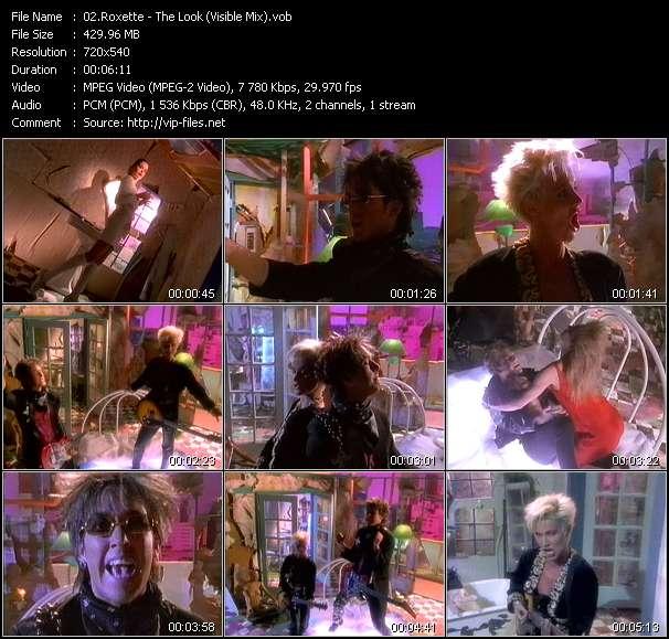 Roxette video screenshot
