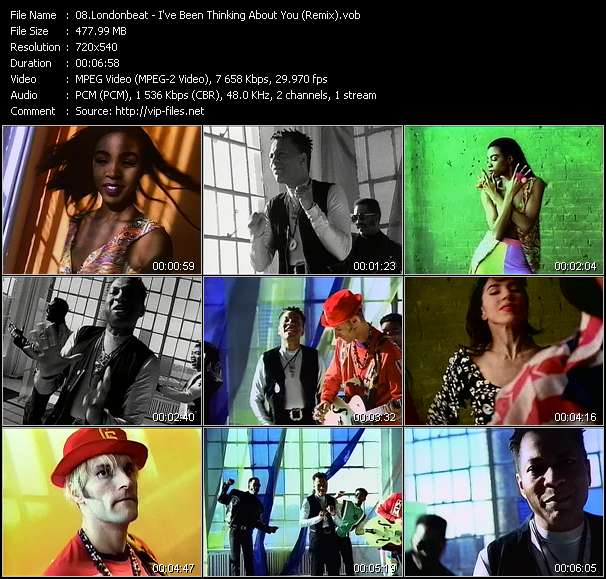 video I've Been Thinking About You (Remix) screen