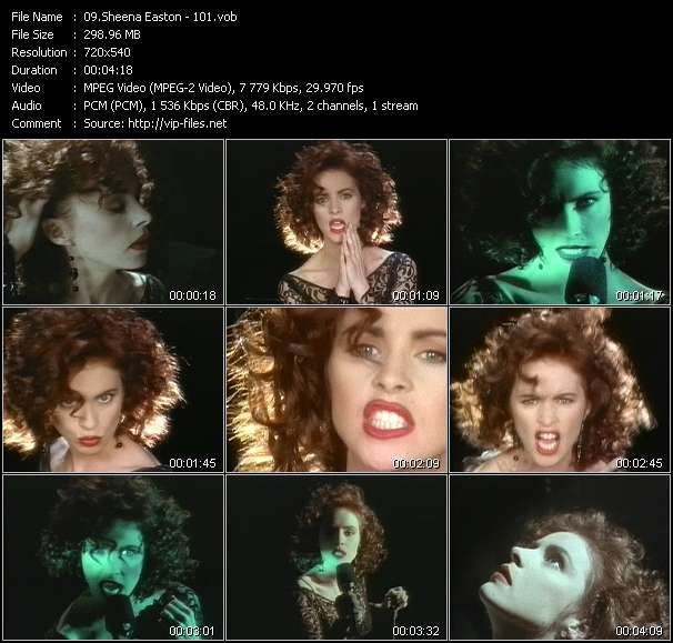 Sheena Easton video screenshot
