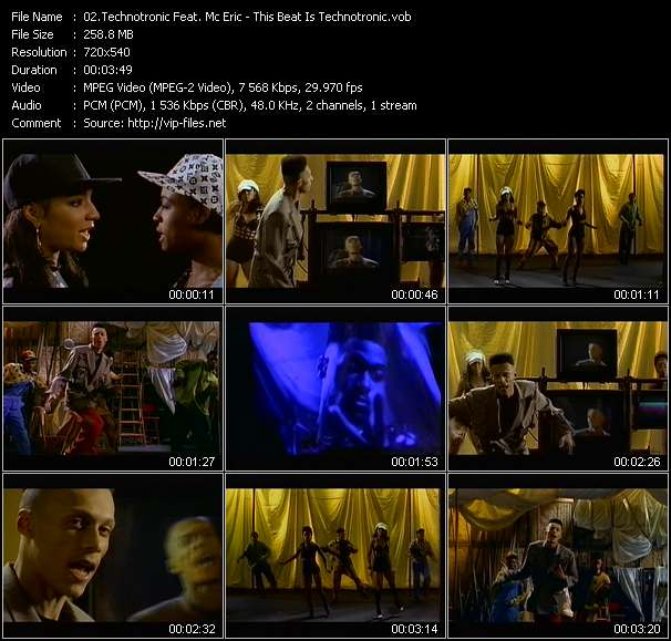 Technotronic Feat. Mc Eric video screenshot