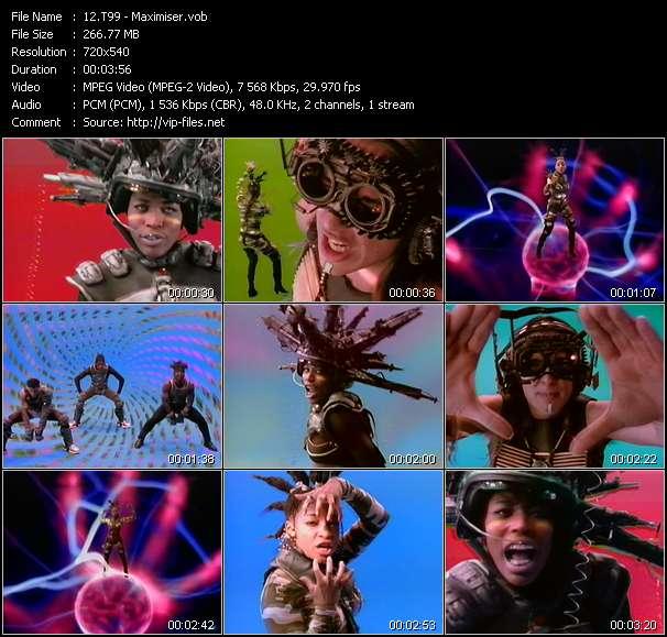 video Maximiser screen