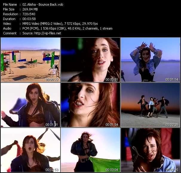 Alisha video screenshot