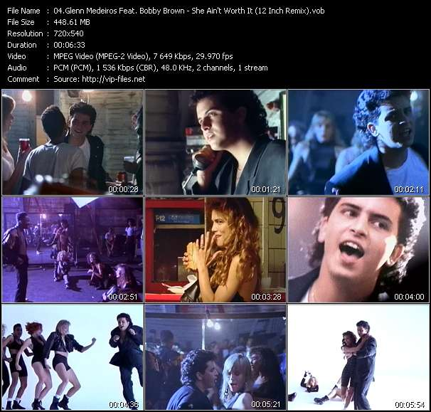 Glenn Medeiros Feat. Bobby Brown video screenshot
