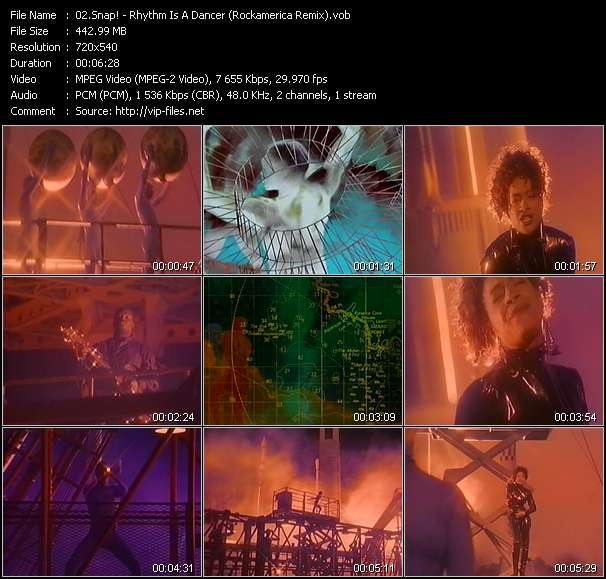 video Rhythm Is A Dancer (Rockamerica Remix) screen