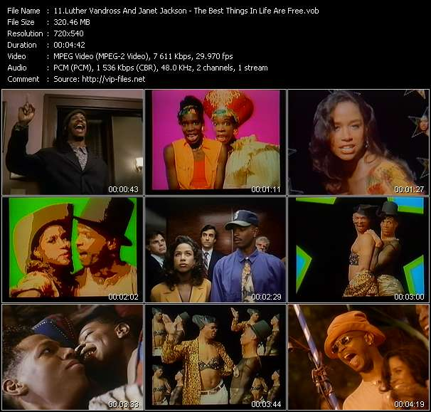 Luther Vandross And Janet Jackson video screenshot
