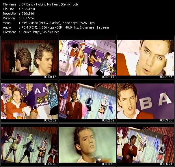 Bang video screenshot