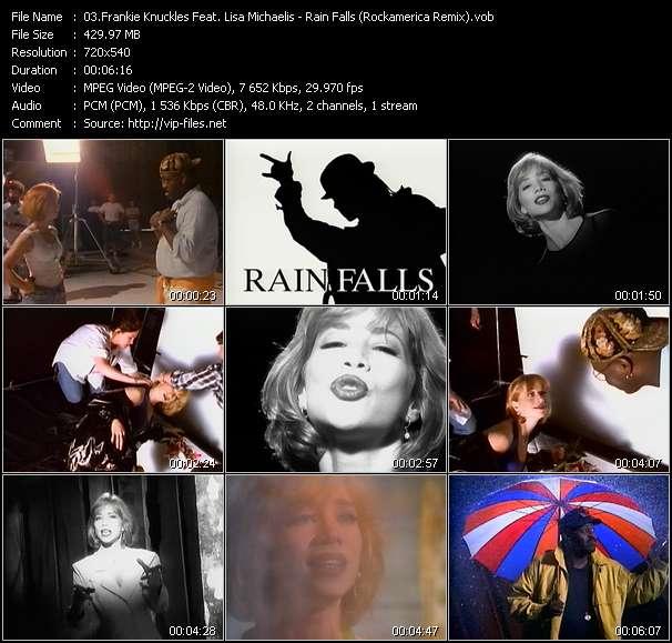 video Rain Falls (Rockamerica Remix) screen
