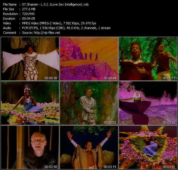 video L.S.I. (Love Sex Intelligence) screen