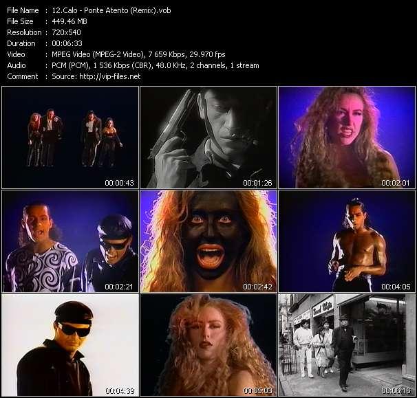 video Ponte Atento (Remix) screen
