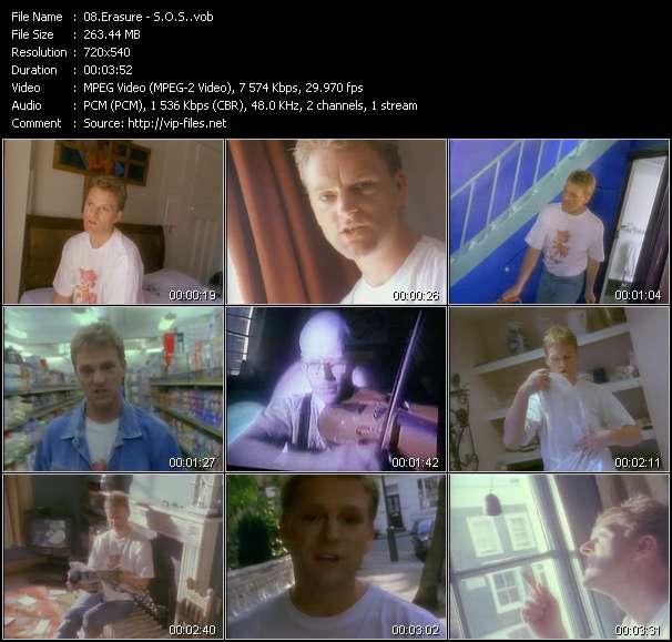 video S.O.S. screen