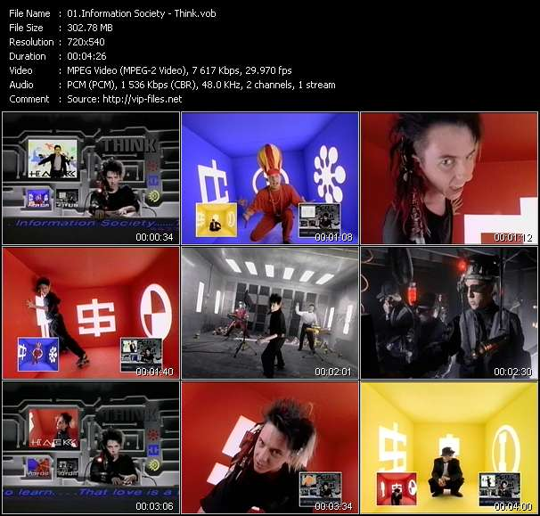 Information Society video screenshot