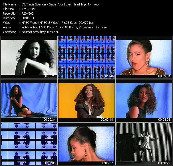 Tracie Spencer video screenshot