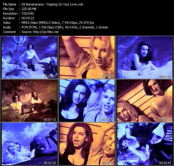 Bananarama video screenshot