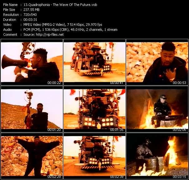 Quadrophonia video screenshot