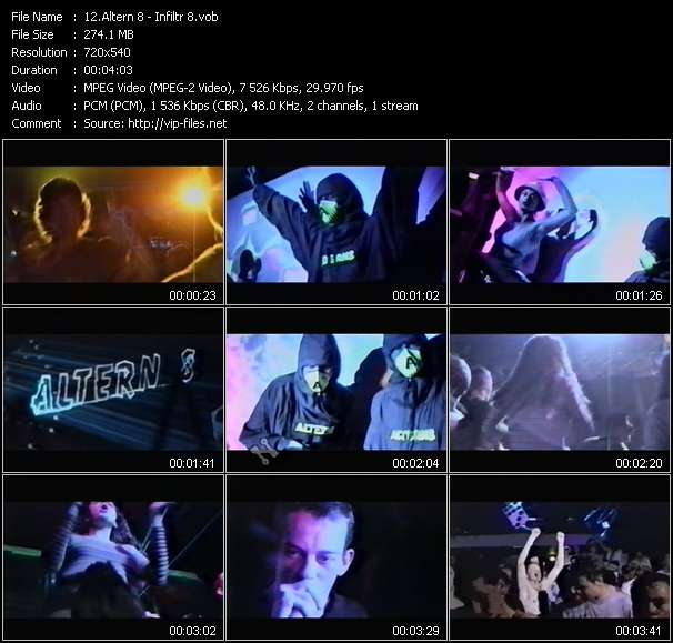 Altern 8 video screenshot