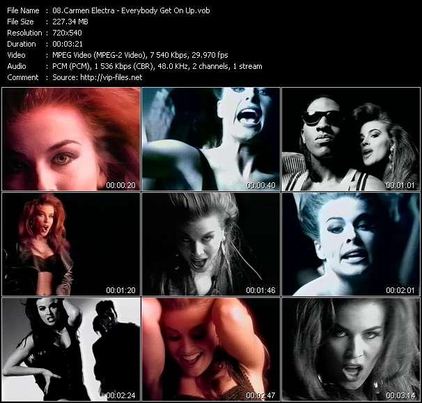 Carmen Electra video screenshot