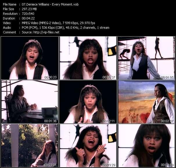 Deniece Williams video screenshot