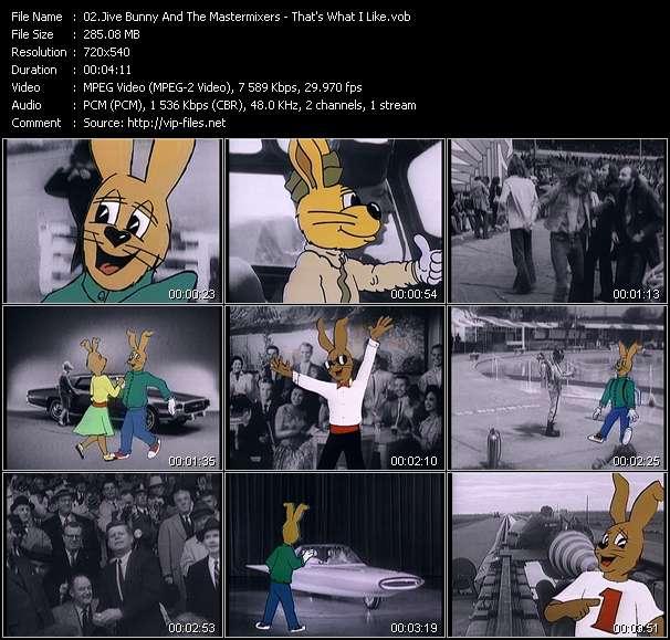 Jive Bunny And The Mastermixers video screenshot