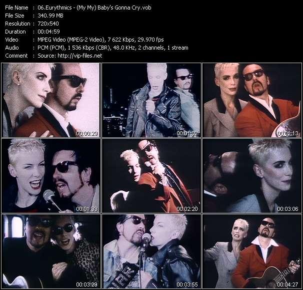Eurythmics video screenshot