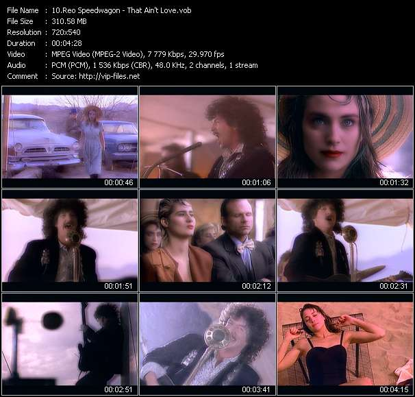 Reo Speedwagon video screenshot