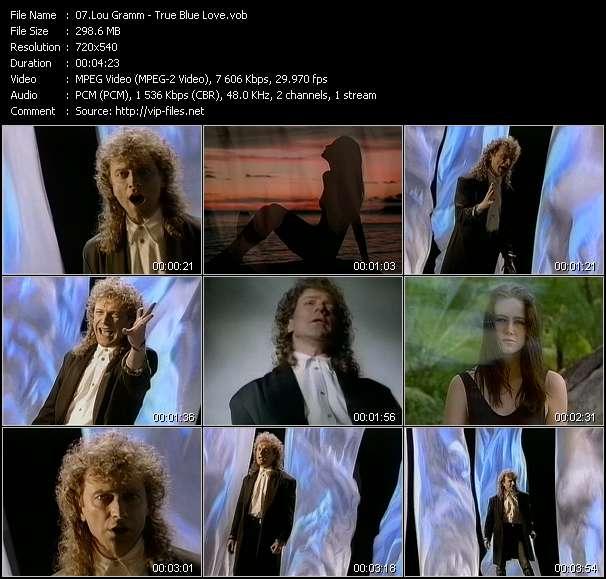 Lou Gramm video screenshot