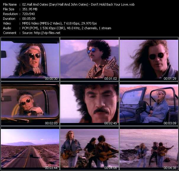Hall And Oates (Daryl Hall And John Oates) video screenshot