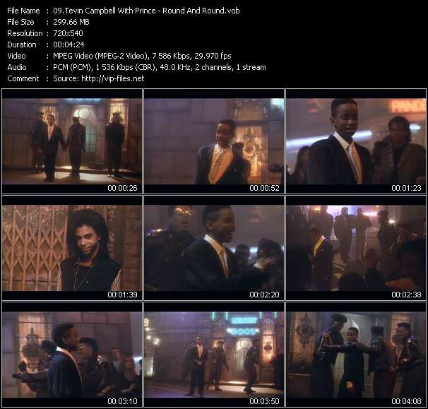 Tevin Campbell With Prince video screenshot