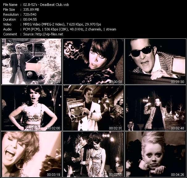 B-52's video screenshot