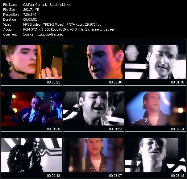 Paul Carrack video screenshot