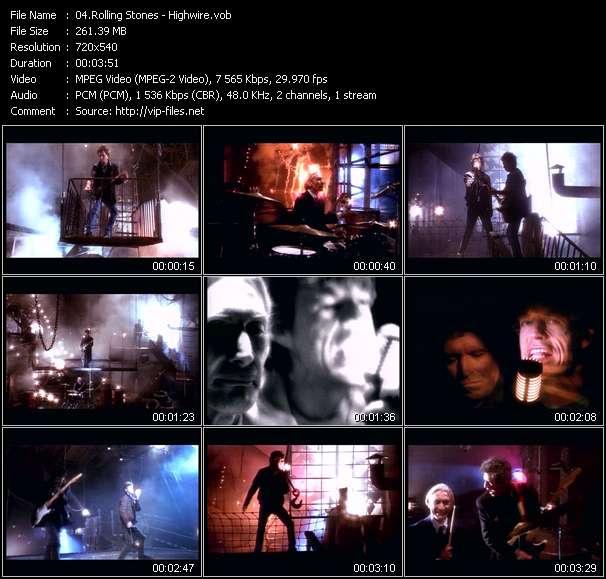 Rolling Stones video screenshot