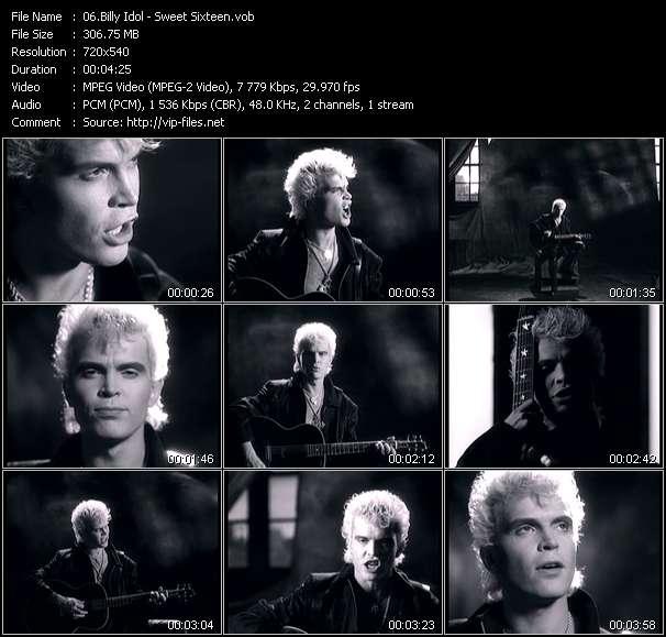 Billy Idol video screenshot