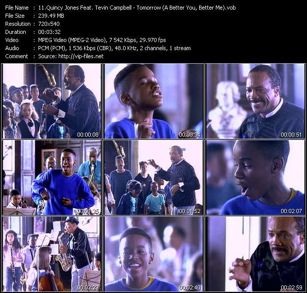 Quincy Jones Feat. Tevin Campbell video screenshot
