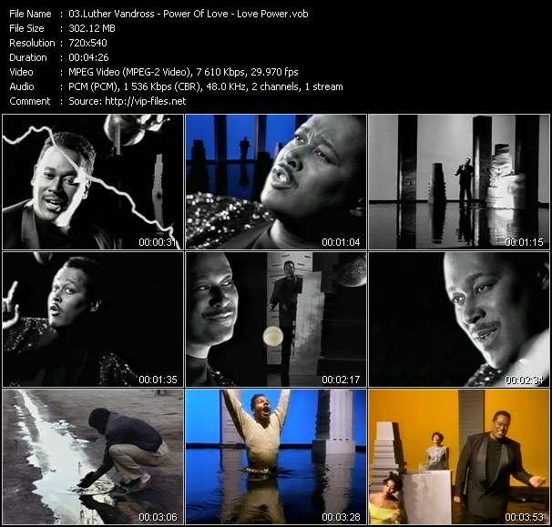 video Power Of Love - Love Power screen