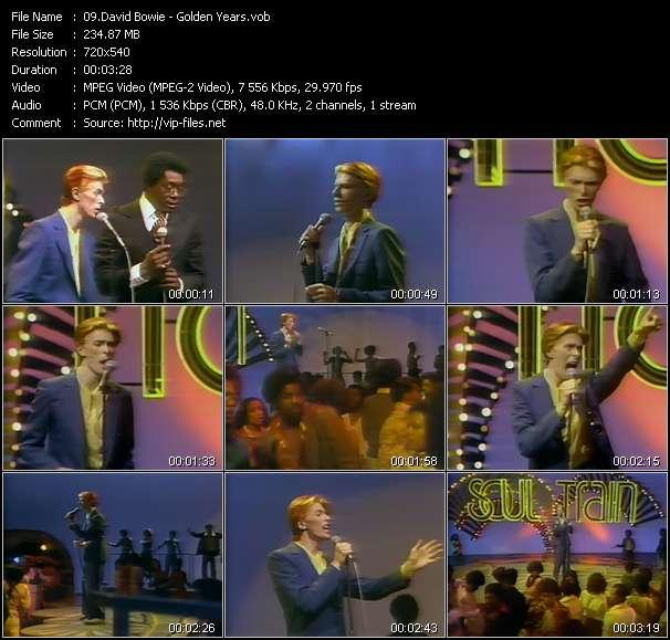 video Golden Years screen