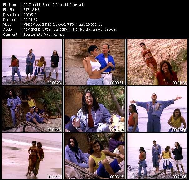 video I Adore Mi Amor screen