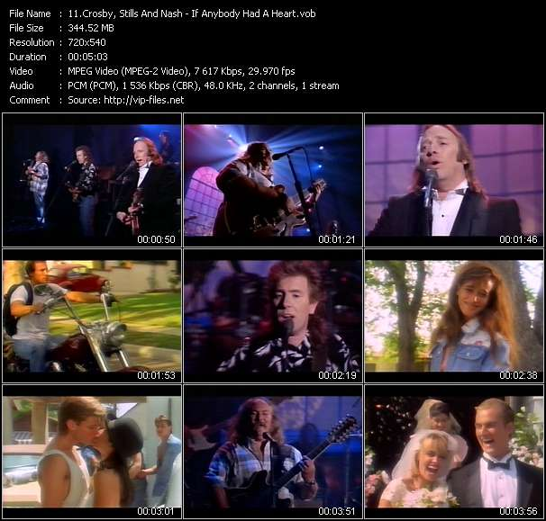 Crosby, Stills And Nash video screenshot