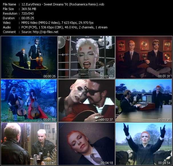 video Sweet Dreams '91 (Rockamerica Remix) screen