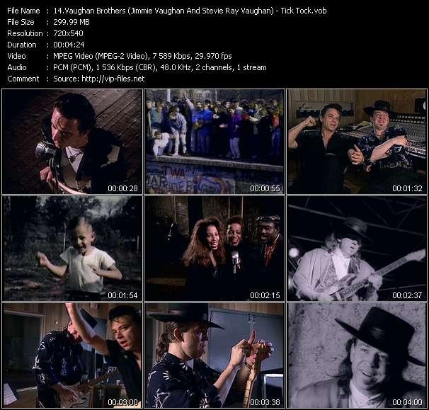 Vaughan Brothers (Jimmie Vaughan And Stevie Ray Vaughan) video screenshot