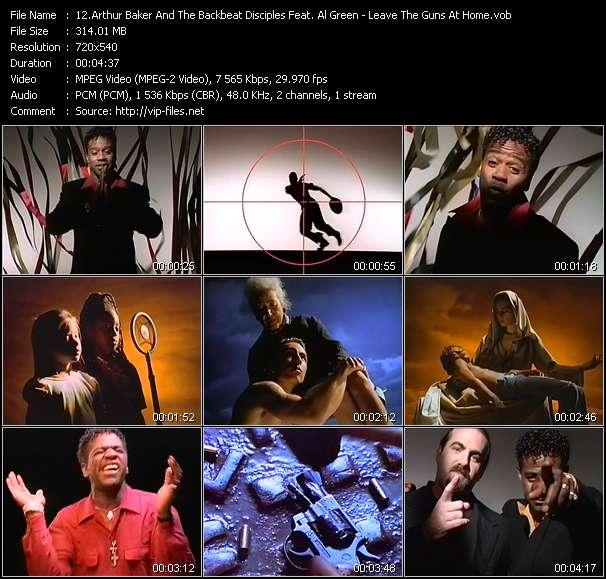 Arthur Baker And The Backbeat Disciples Feat. Al Green video screenshot