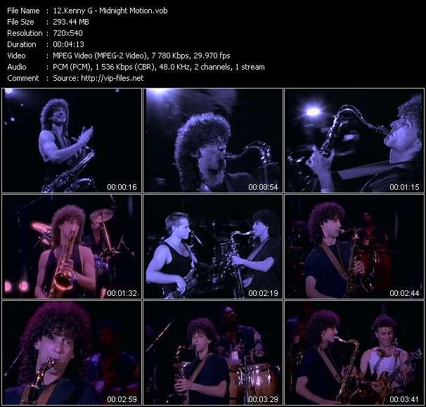 Kenny G video screenshot